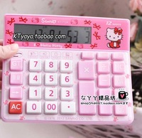 Hello kitty HELLO KITTY new arrival solar calculator voice pink 12