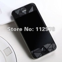 Wholesale 400pcs Clear 3D LCD Screen Protector Film Cover for Apple iPhone 4 4G 4S Free Shipping By DHL