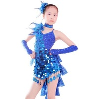 Good quality children latin dress, latin costume, Various Colors, Free shipping