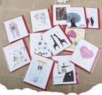 Euramerican архитектурный Подарочная открытка / Открытки / новогодние открытки / 32 набор шт.
