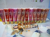 2012 New victoris's secret lip gloss SPF 15 ! makeup Lip Gloss !! Free Shipping (12PCS/LOT)