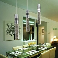 Dinning room Crystal Pendant Lights with 3*3W LEDs