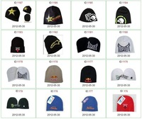 10 pcs/ lot Men's Winter Necessary Beanies Football Team Wool cap Mix Order Free Shipping