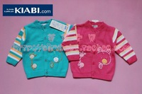 Hot selling 4pcs/lot top brand baby knitted sweater girls boys children's cardigan pullovers kids infant clothing+Free shipping