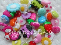 400pcs pretty  mix style  lot resin  buttons,lovely baby DIY doll sewing/scrapbook/craft/Cardmaker Costume design
