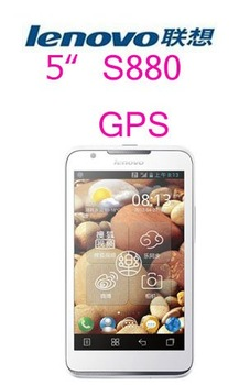 "Free shipping Original Unlocked Lenovo S880 3G WCDMA Mobile phone 5.0""TFT Capacitive Screen,Android 4.0 MTK6575 1GHz"