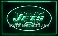 A042 B NEW YORK JETS NFL Football Bar Pub LED Light Sign