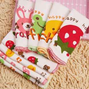 Thickening 11 autumn and winter cartoon burp cloth umbilical cord care newborn(China (Mainland))
