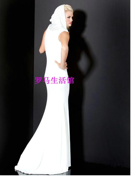 Hooded Wedding Dress Images