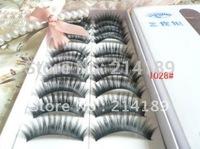 Free Shipping New 10 Thick Slim false eyelashes false eyelashes