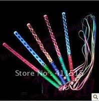 2013 50pcs LED Holiday Lighting finger LED Flash light up wand novelty toy glow sticks kids toys free shipping