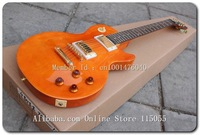 New arrival standard honey orange electric guitar  Free SHIPPING (NO CASE) A/16