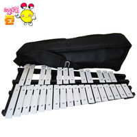 Happy bean orff instruments 30 aluminum piano professional folding qin package