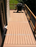 Durable and beautiful wood plastic composite decking wpc floor