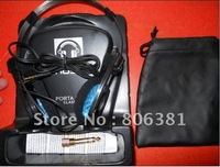 New carton packaging p -o-r-t-a p-r -o headphones blue very hot sell ,Free shipping