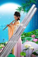 Flute transparent crystal flute / music gift instrument