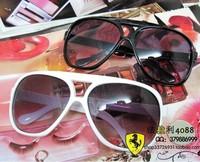 Large size fashion glasses vintage big box sunglasses Men Women unisex sun glasses