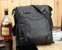 2012 cross-section of the new men's shoulder bag business briefcase, messenger bag fashion man bag 1pcs Free Shipping MB108