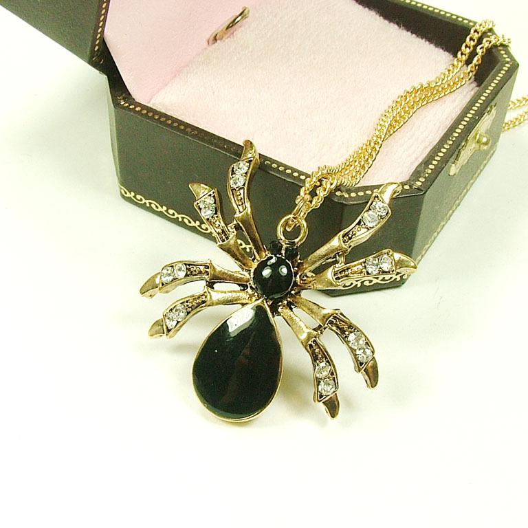 Кулон паук