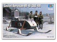 Trumpeter model 02322 1/35 Soviet Aerosan RF-8/GAZ-98 plastic model kit