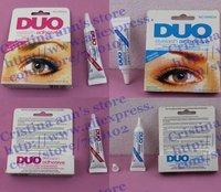 """100PC Makeup Eyelash Glue DUO WaterProof Eyelash Adhesive Glue  9G """"White/Black"""" Free shipping+Free gift"""