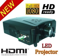 HDMI USB projector led lamp light source low price for promotion Free Shipping(China (Mainland))