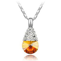 Day gift austrian crystal necklace accessories - - water 1093 crystal accessories