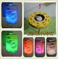 10ps/lot+Free shipping dia:16cm,height:22cm paper collapsible lanterns/cartoon lantern folding lanternwedding/party/birthday/