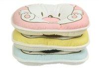 Free shipping 22*18cm Cotton Cartoon Baby pillows / Infant Pillows Wholesale 100% Cotton Little Bear Baby Pillow