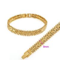 Watch chain Gold plated Bracelet golden bracelet male bracelet Men 2014 New Free shipping