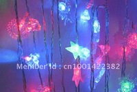 28 LED String Fariy Star Christmas Light Indoor or Outdoor Decortation 110v