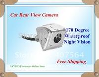 Free shipping Luxury Waterproof Car Rear View Camera backup reverse rearview parking camera