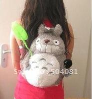 Wholesales My Neighbor Totoro fashion Plush Cute Backpack Doll ShoulderBag schoolbag shoulder bag Free Shipping /plush doll toy