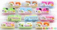 New cute cartoon animals styles II contact lenses case & box /  lens Companion box / Wholesale
