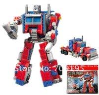 Christmas gift Enlighten Child 8023 learning & education toys Robot KAZI building block sets,children toys for kid free Shipping
