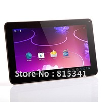 Hotselling 9 inch a13 android 4.0 Allwinner A13 android tablet pc external 3G 1GHZ 8GB ROM