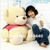 bridthday Festival gift Lovely cute teddy bear toys for kids, big size and plush toy 80cm Free Shipping(China (Mainland))
