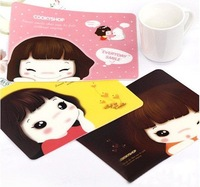 Min.order is $15 (mix order) Fashion Cartoon Mouse Pad Mouse Mat AQ2395