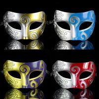 New arrival Halloween Masquerade Mask Vintage Roman Gladiator Baron Venetian Mask Carnival Mask