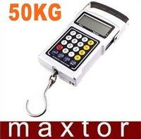 50Kg/110Ib Multifunction Luggage Hanging Digital Scale, Weighing Scale, freeshipping