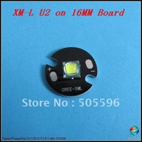 NEW ARRIVAL, 16mm Board CREE XM-L U2 1300 Lumens LED Emitter/Bulb