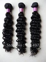 8-22'' %100 peruvian remy hair weave top quality deep wave dhl free shipping in stock for now