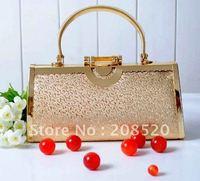 JJ40 Free shipping/The KTV princess DJ Evening Bags/nightclub handbag/wedding gift bag for bridal/golden color