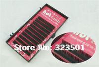False Eyelashes SAUNA eyelash extension heat-resistant Eyelashes hot lash-12pcs/lot