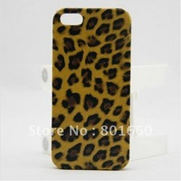 Stylish Brown Leopard Case Cover for iPhone 5