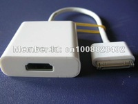 Free shipping  Camera AV HDMI Adapter Connection Kit For iPad 2 iPhone resolutions up to 1080P