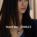 Free Shipping--Fashion Jewelry 2012 Vampire Diary Elena Vervain Box Pendant Necklaces Trendy,NBC002