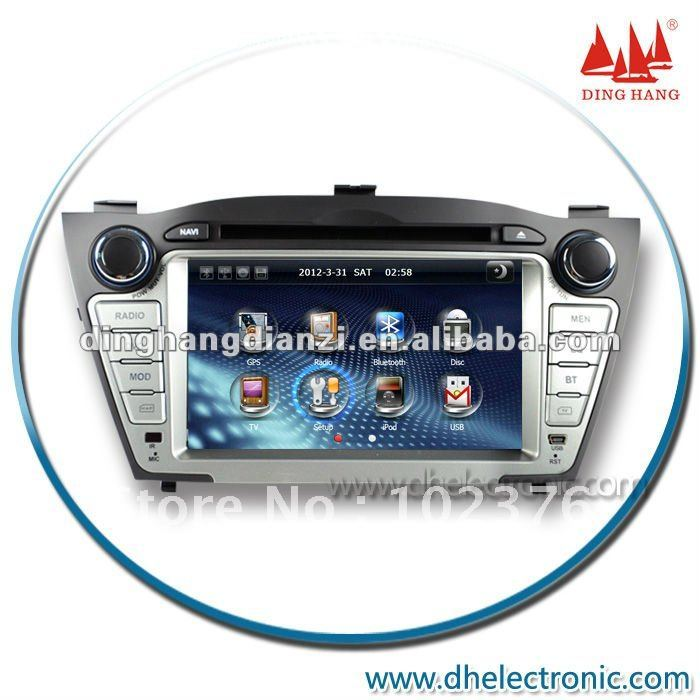 Manufactory OEM Service DH-6516FL Hyundai IX35 Car DVD Player Car dvd+gps monitor(China (Mainland))