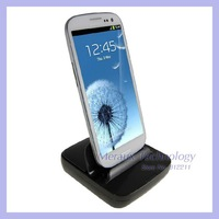 New arrival battery desktop dock home charger with usb output for samsung galaxy note2 N7100