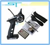 2012 Flysky FS-GT2B FS GT2B 2.4G 3CH Gun RC Transmitter & Receiver W/ TX battery + USB Cable Charger  Up GT2  Free Shipping